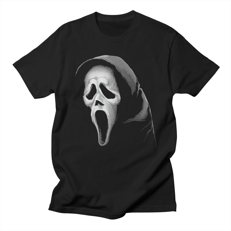 What's Your Favorite Scary Movie Men's T-Shirt by The Art Of Steven Luros Holliday