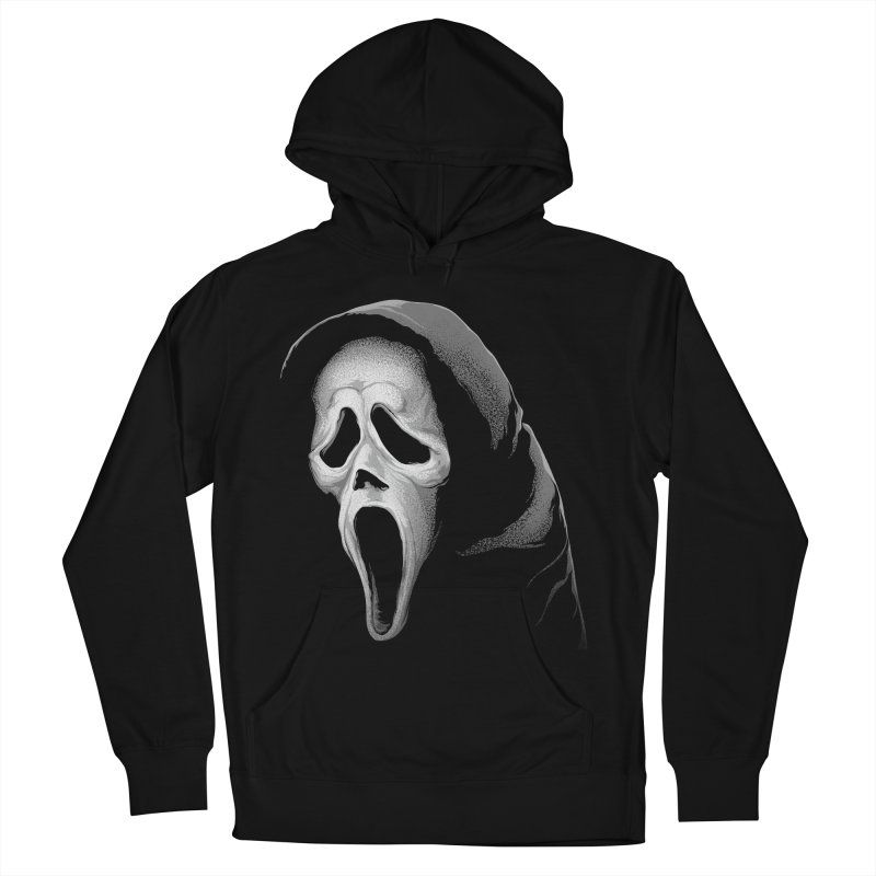 What's Your Favorite Scary Movie Women's French Terry Pullover Hoody by The Art Of Steven Luros Holliday