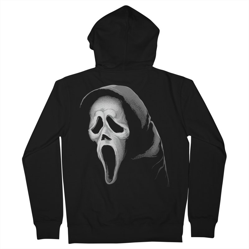 What's Your Favorite Scary Movie Women's French Terry Zip-Up Hoody by The Art Of Steven Luros Holliday