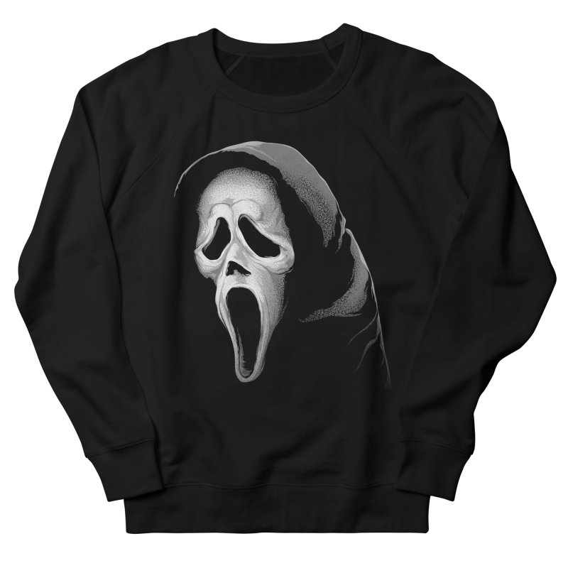 What's Your Favorite Scary Movie Women's French Terry Sweatshirt by The Art Of Steven Luros Holliday