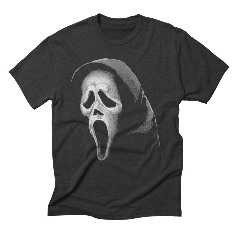 What's Your Favorite Scary Movie Men's Triblend T-Shirt by The Art Of Steven Luros Holliday