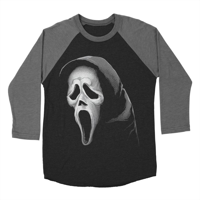 What's Your Favorite Scary Movie Men's Baseball Triblend Longsleeve T-Shirt by The Art Of Steven Luros Holliday
