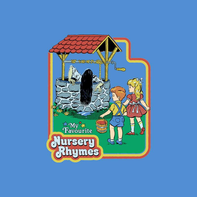 My Favourite Nursery Rhymes Men's T-Shirt by Steven Rhodes