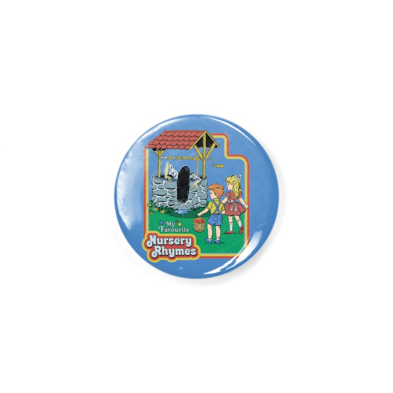 My Favourite Nursery Rhymes Accessories Button by Steven Rhodes