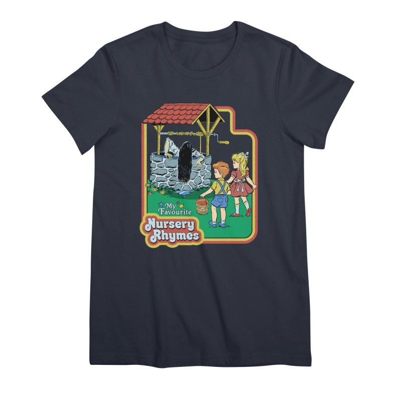 My Favourite Nursery Rhymes Women's Premium T-Shirt by Steven Rhodes