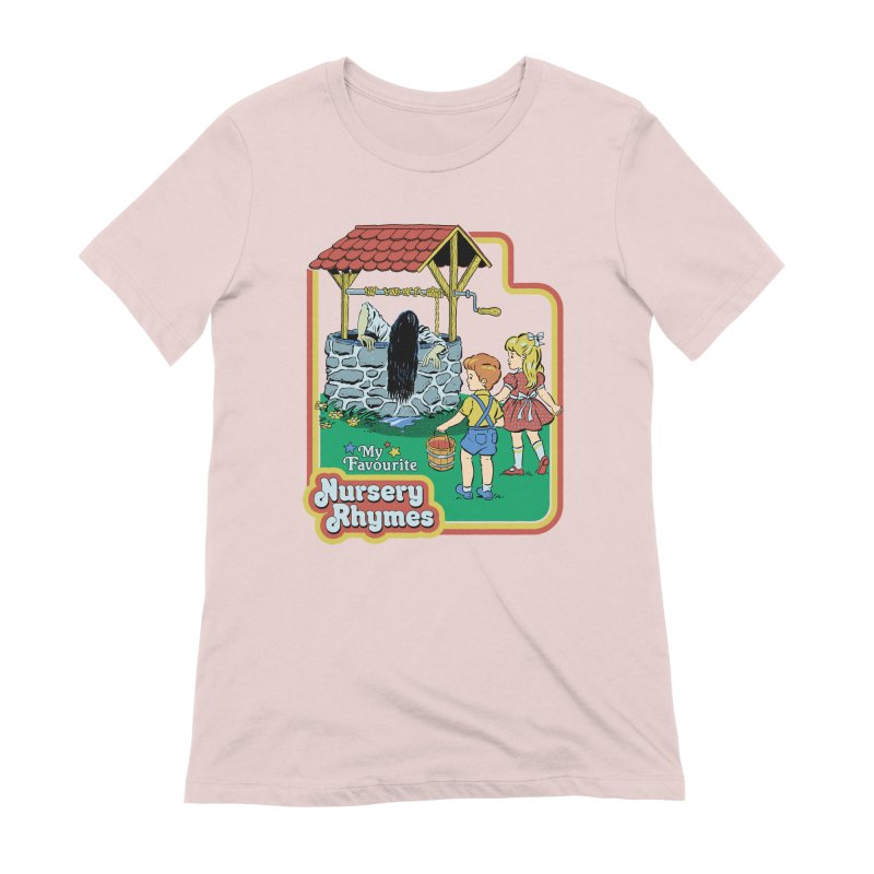 My Favourite Nursery Rhymes Women's Extra Soft T-Shirt by Steven Rhodes