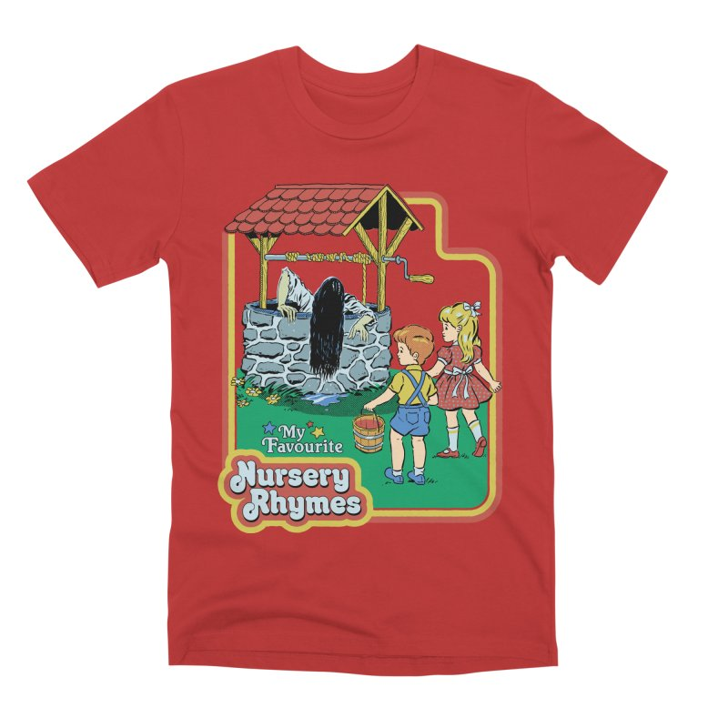 My Favourite Nursery Rhymes Men's Premium T-Shirt by Steven Rhodes