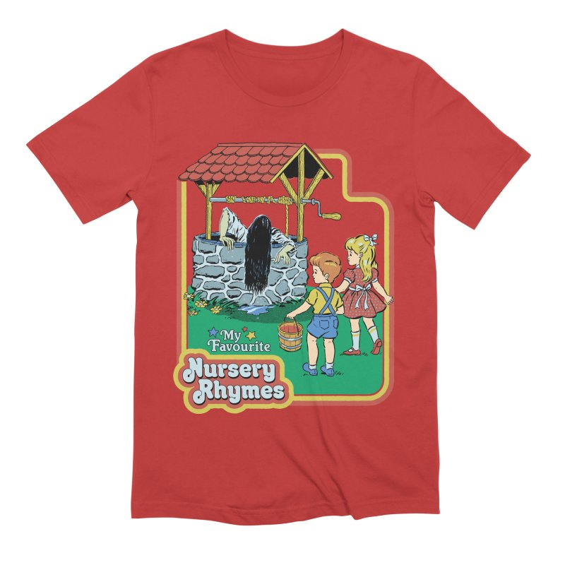 My Favourite Nursery Rhymes Men's Extra Soft T-Shirt by Steven Rhodes