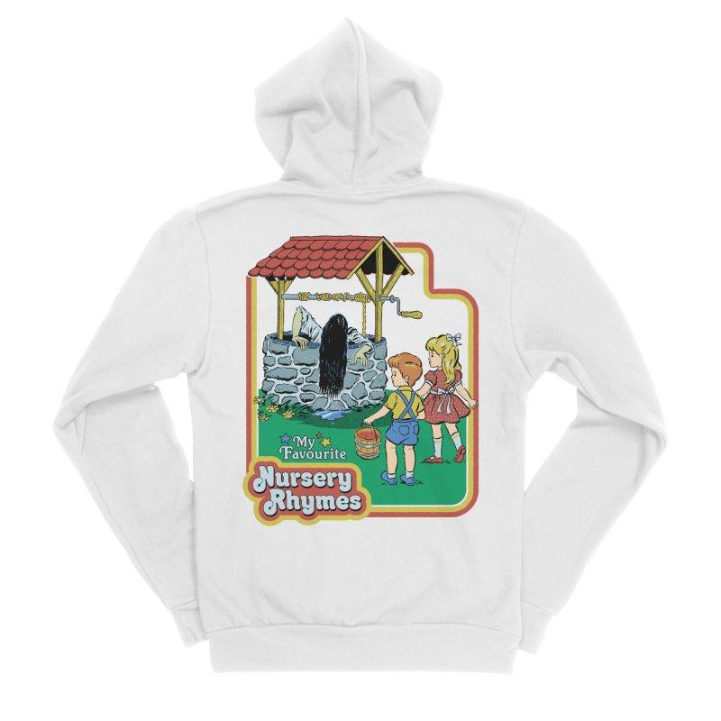 My Favourite Nursery Rhymes Men's Sponge Fleece Zip-Up Hoody by Steven Rhodes