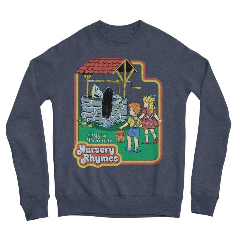 My Favourite Nursery Rhymes Men's Sponge Fleece Sweatshirt by Steven Rhodes