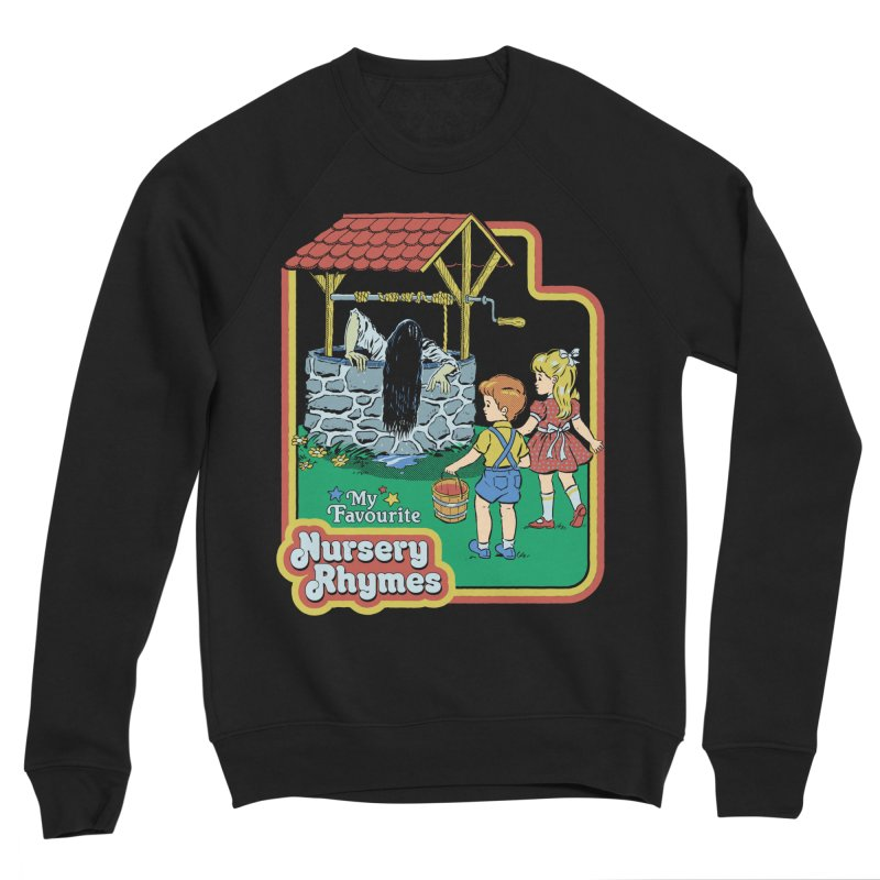 My Favourite Nursery Rhymes Men's Sponge Fleece Sweatshirt by Steven Rhodes