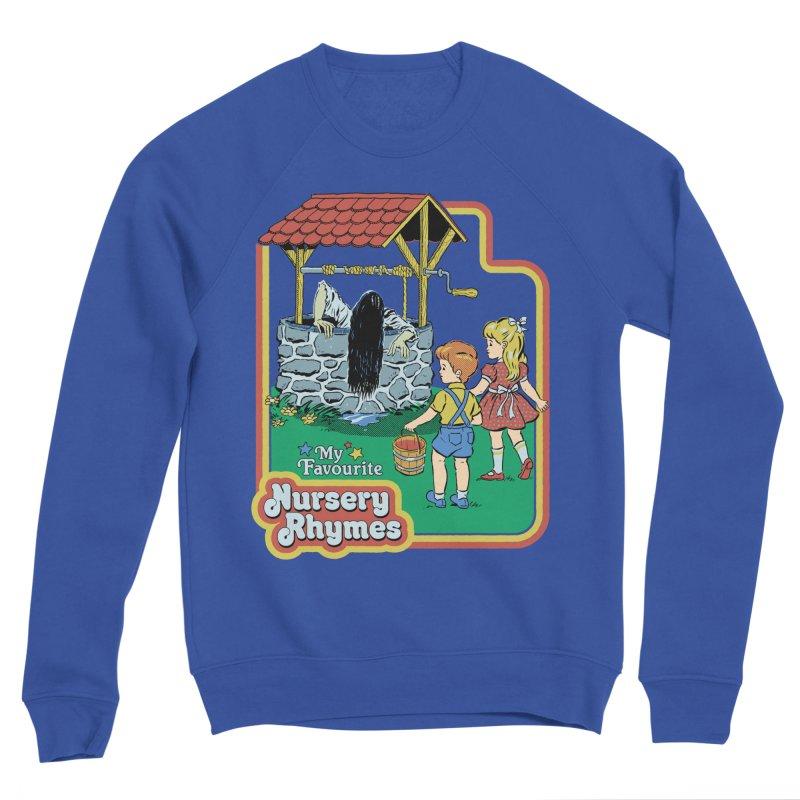 My Favourite Nursery Rhymes Women's Sponge Fleece Sweatshirt by Steven Rhodes