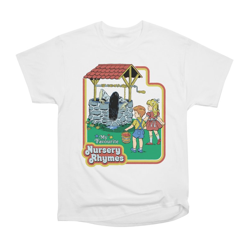 My Favourite Nursery Rhymes Men's Heavyweight T-Shirt by Steven Rhodes