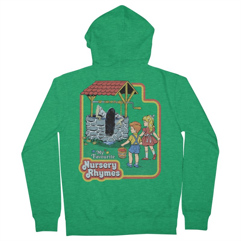 My Favourite Nursery Rhymes Women's French Terry Zip-Up Hoody by Steven Rhodes