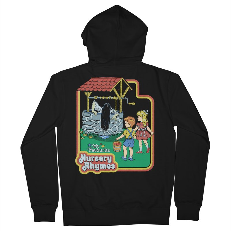 My Favourite Nursery Rhymes Men's French Terry Zip-Up Hoody by Steven Rhodes