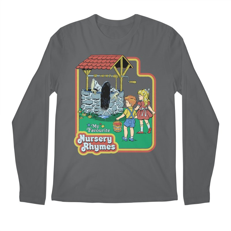 My Favourite Nursery Rhymes Men's Regular Longsleeve T-Shirt by Steven Rhodes