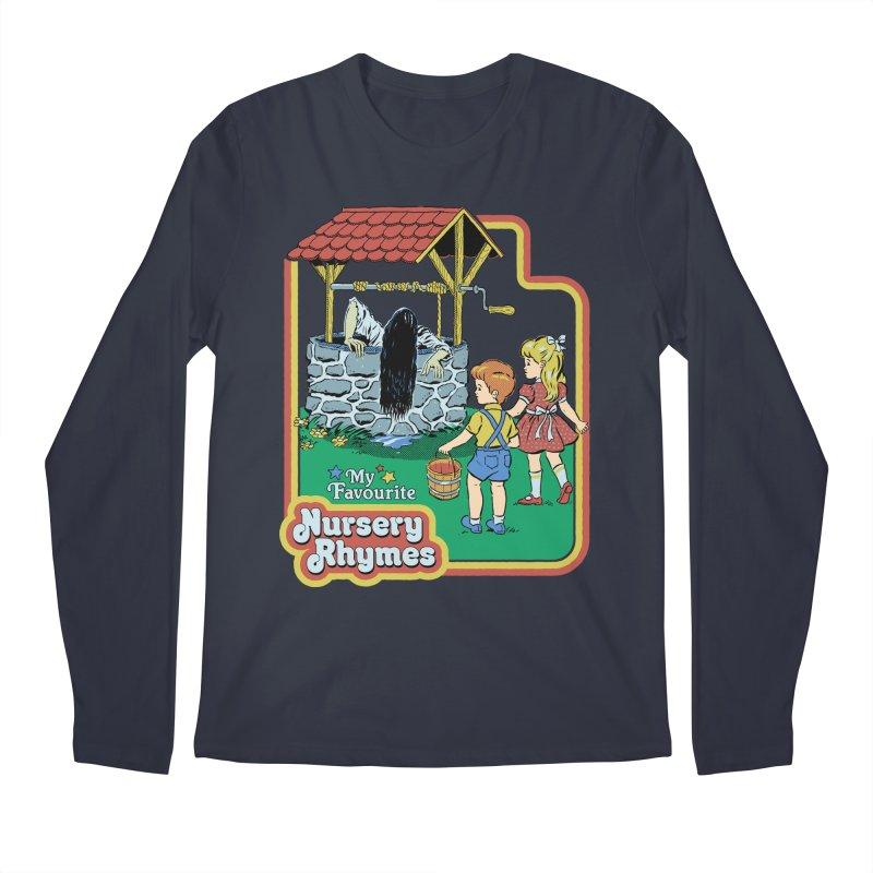My Favourite Nursery Rhymes Men's Regular Longsleeve T-Shirt by Steven Rhodes