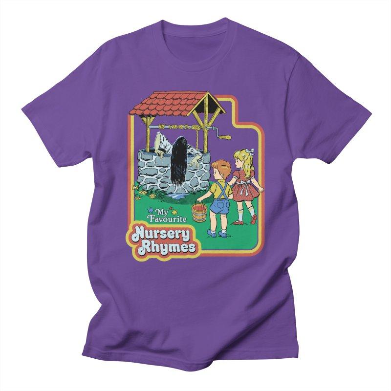 My Favourite Nursery Rhymes Men's Regular T-Shirt by Steven Rhodes
