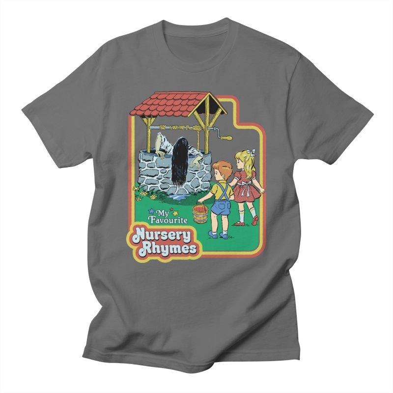 My Favourite Nursery Rhymes Men's T-Shirt by Steven Rhodes