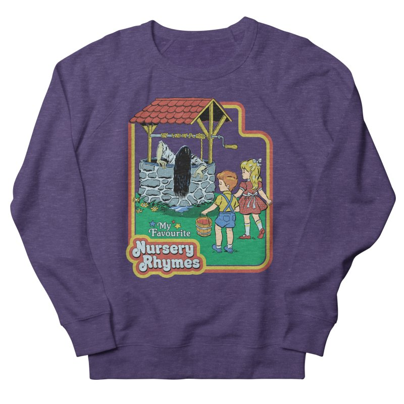 My Favourite Nursery Rhymes Women's French Terry Sweatshirt by Steven Rhodes