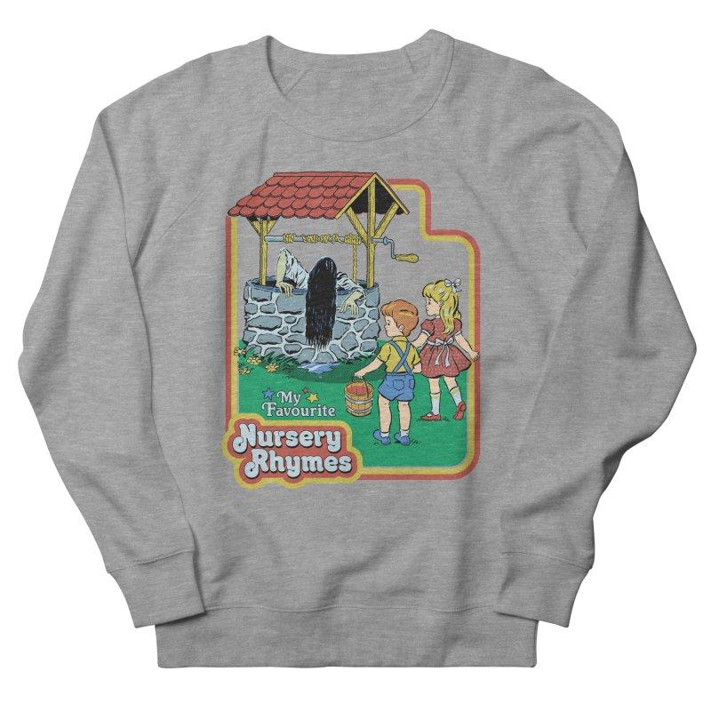 My Favourite Nursery Rhymes Men's French Terry Sweatshirt by Steven Rhodes