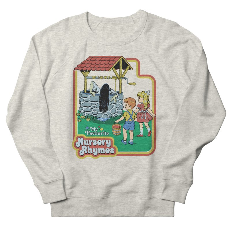 My Favourite Nursery Rhymes Men's French Terry Sweatshirt by Steven Rhodes