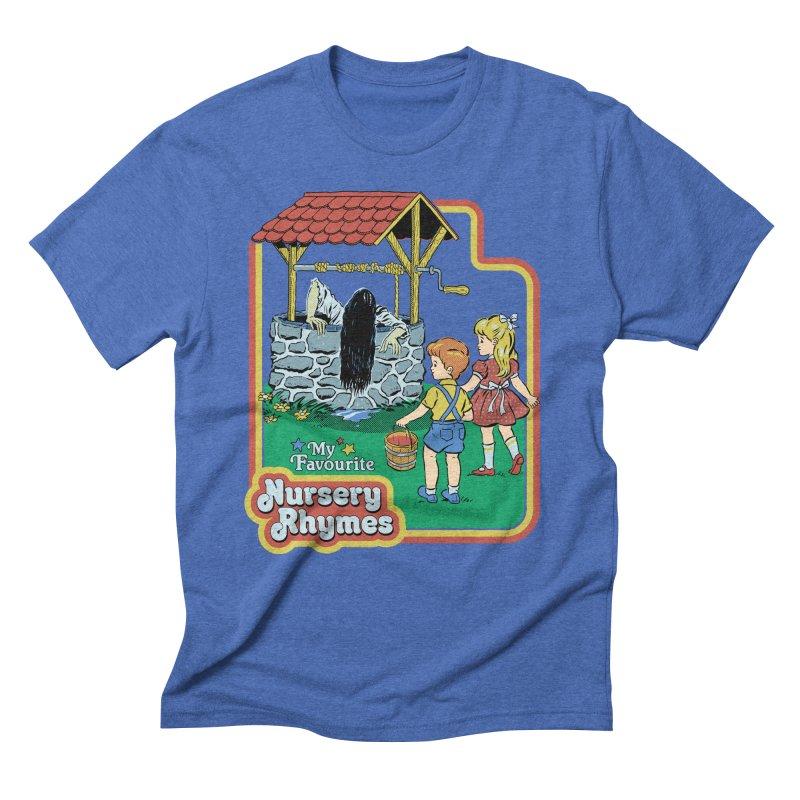 My Favourite Nursery Rhymes Men's Triblend T-Shirt by Steven Rhodes