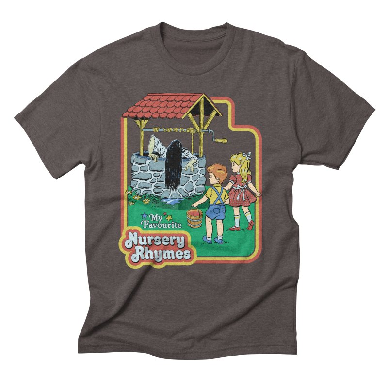 My Favourite Nursery Rhymes Men's Triblend T-Shirt by Steven Rhodes