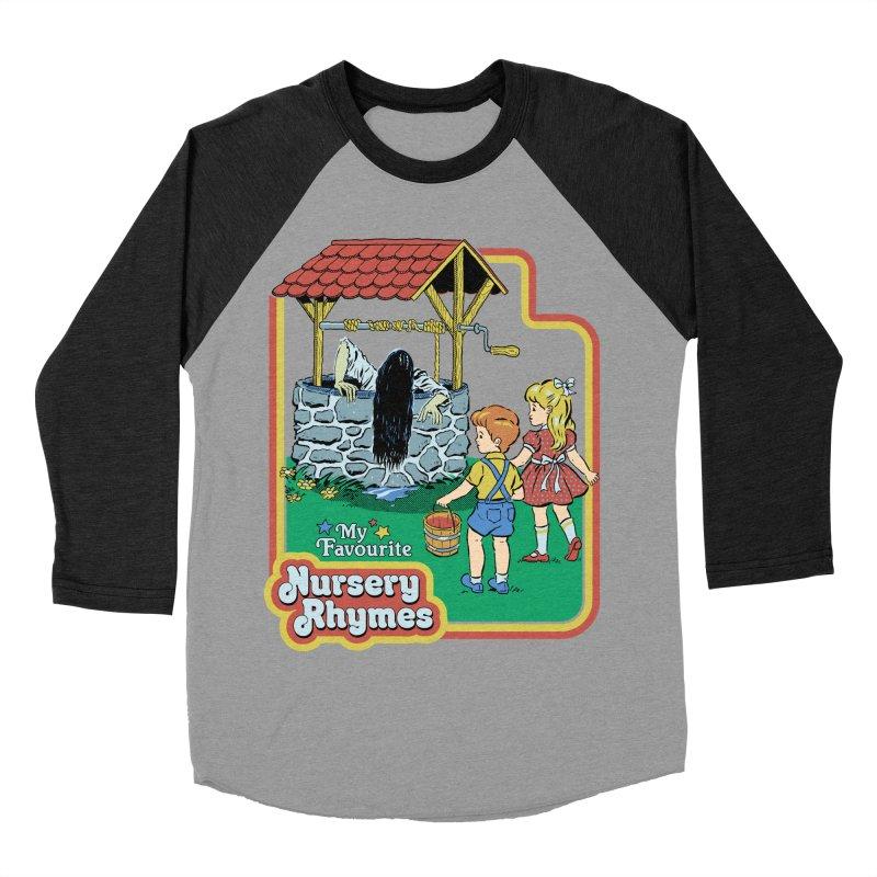My Favourite Nursery Rhymes Women's Baseball Triblend Longsleeve T-Shirt by Steven Rhodes