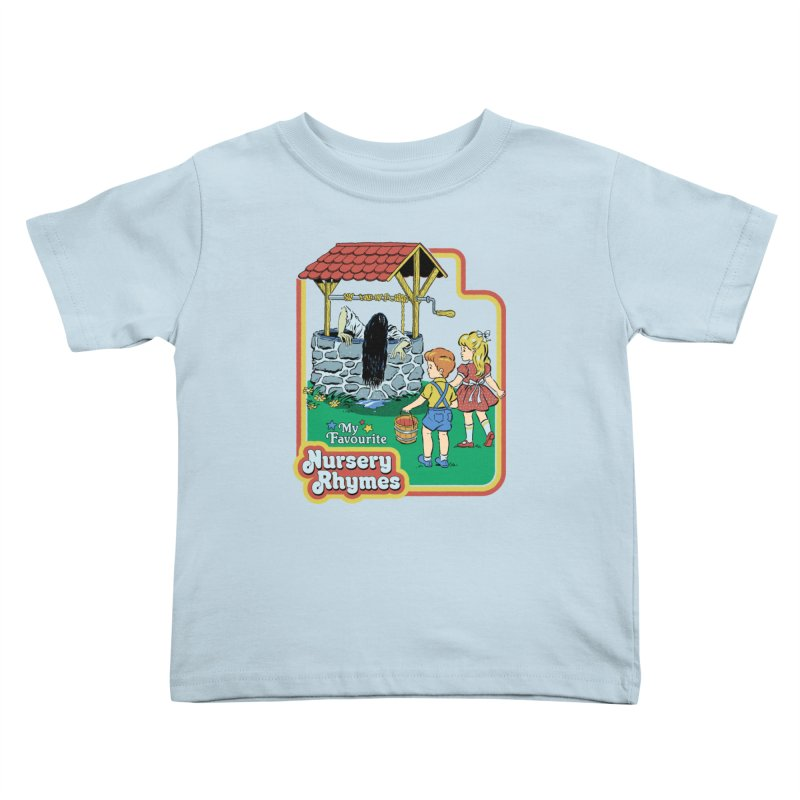 My Favourite Nursery Rhymes Kids Toddler T-Shirt by Steven Rhodes