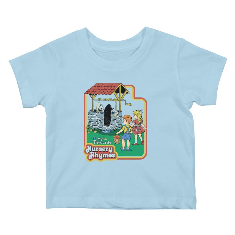 My Favourite Nursery Rhymes Kids Baby T-Shirt by Steven Rhodes