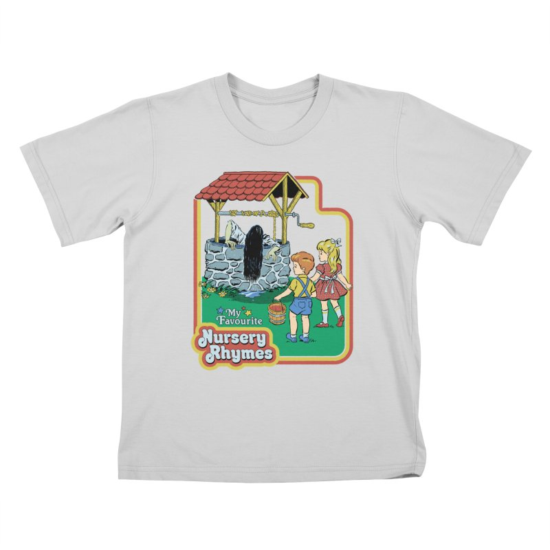 My Favourite Nursery Rhymes Kids T-Shirt by Steven Rhodes