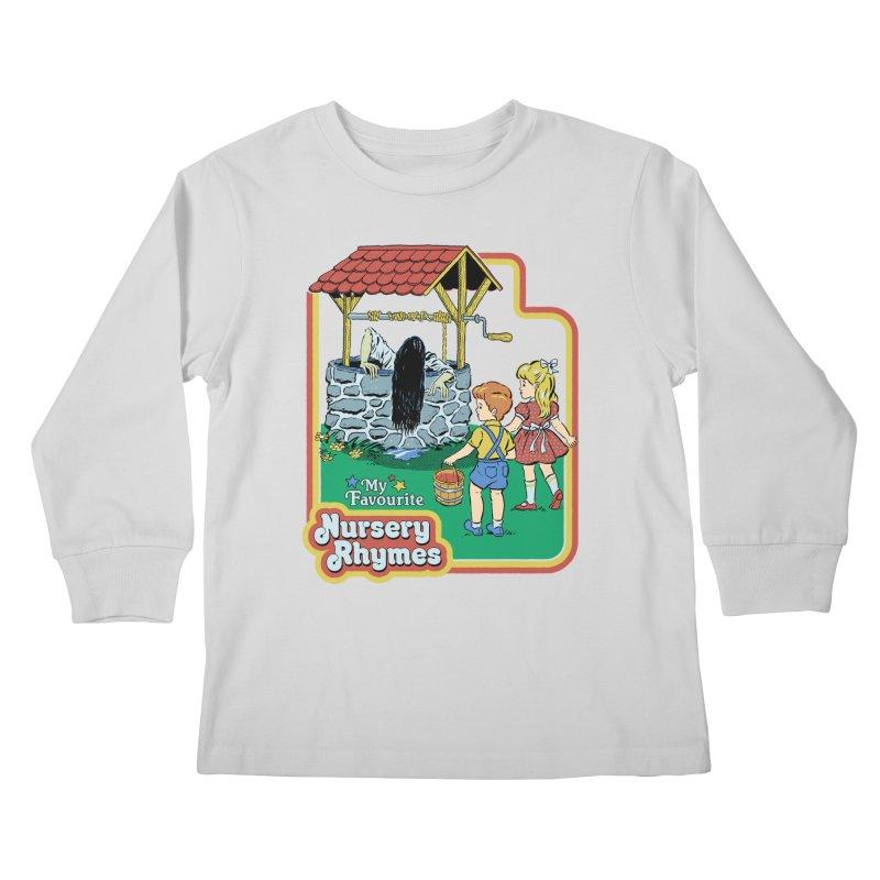 My Favourite Nursery Rhymes Kids Longsleeve T-Shirt by Steven Rhodes