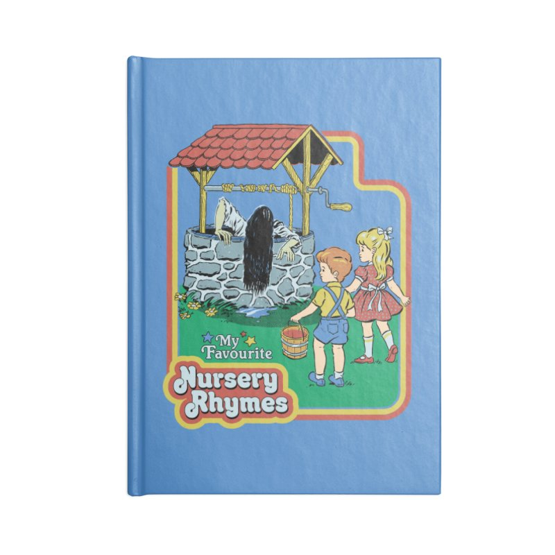 My Favourite Nursery Rhymes Accessories Lined Journal Notebook by Steven Rhodes