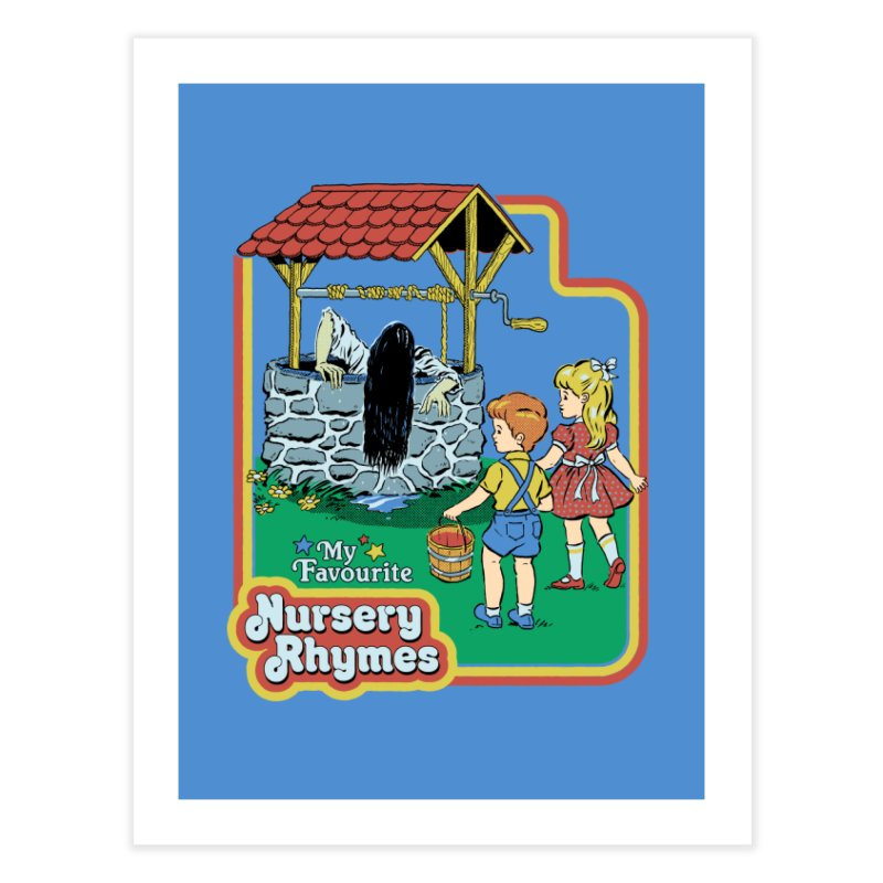 My Favourite Nursery Rhymes Home Fine Art Print by Steven Rhodes