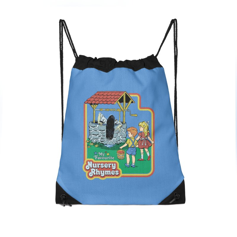 My Favourite Nursery Rhymes Accessories Drawstring Bag Bag by Steven Rhodes