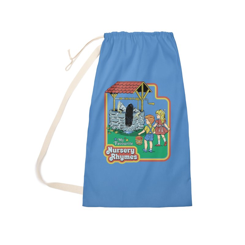 My Favourite Nursery Rhymes Accessories Laundry Bag Bag by Steven Rhodes