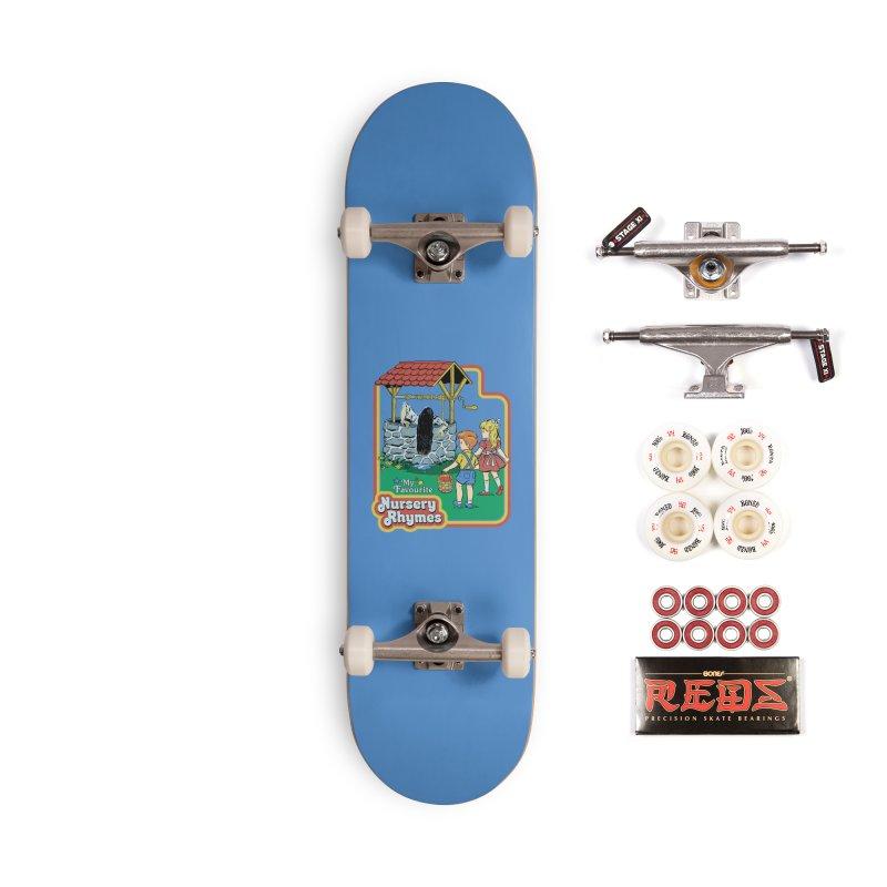 My Favourite Nursery Rhymes Accessories Complete - Pro Skateboard by Steven Rhodes