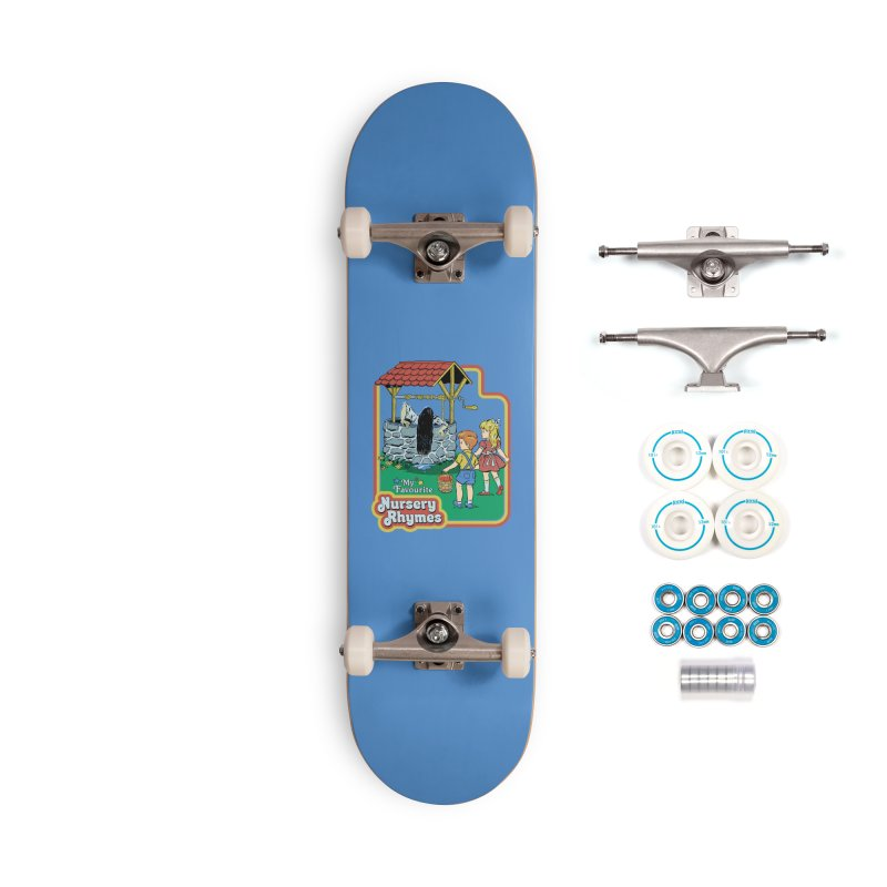 My Favourite Nursery Rhymes Accessories Complete - Basic Skateboard by Steven Rhodes