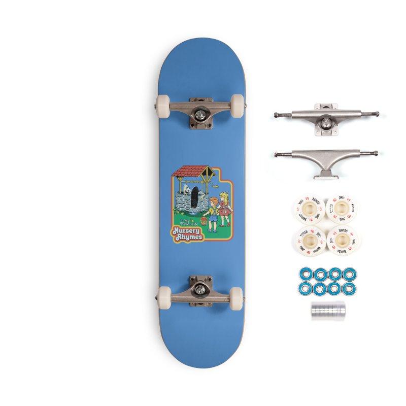 My Favourite Nursery Rhymes Accessories Complete - Premium Skateboard by Steven Rhodes