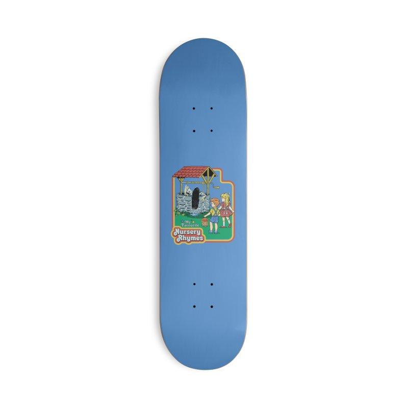 My Favourite Nursery Rhymes Accessories Deck Only Skateboard by Steven Rhodes