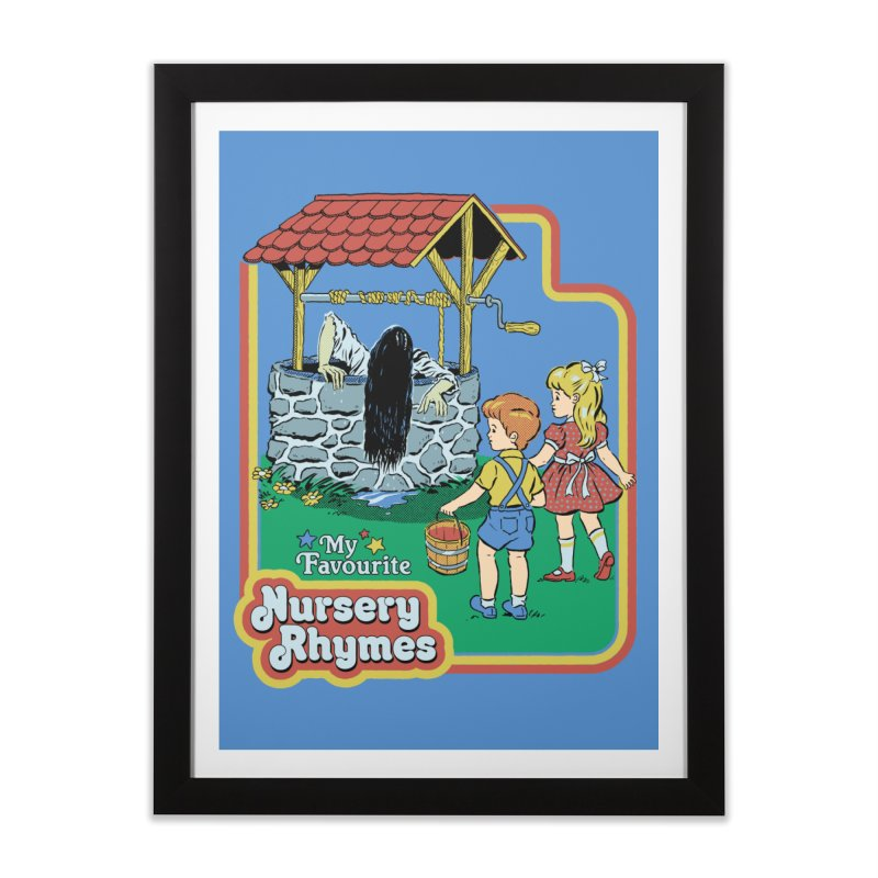 My Favourite Nursery Rhymes Home Framed Fine Art Print by Steven Rhodes