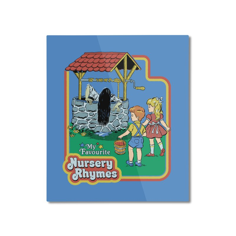 My Favourite Nursery Rhymes Home Mounted Aluminum Print by Steven Rhodes