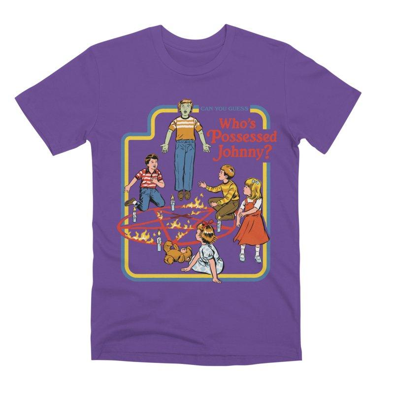 Who's Possessed Johnny? Men's Premium T-Shirt by Steven Rhodes