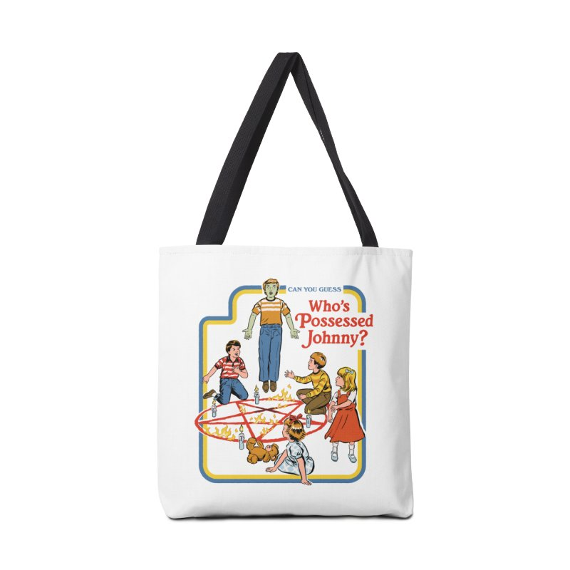 Who's Possessed Johnny? Accessories Tote Bag Bag by Steven Rhodes