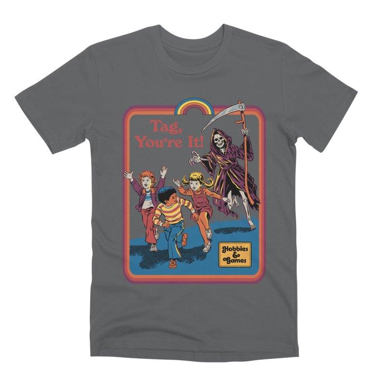 Tag, You're It! Men's Premium T-Shirt by Steven Rhodes