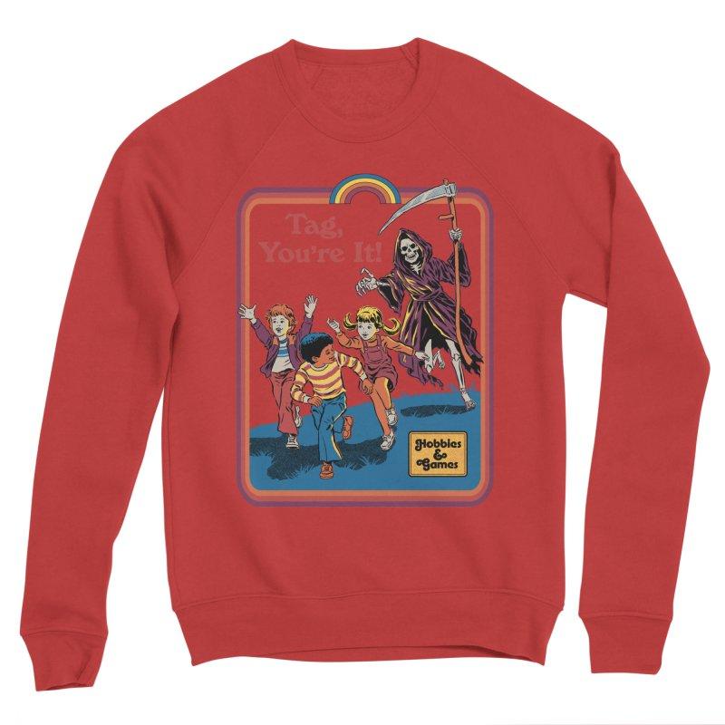 Tag, You're It! Women's Sponge Fleece Sweatshirt by Steven Rhodes