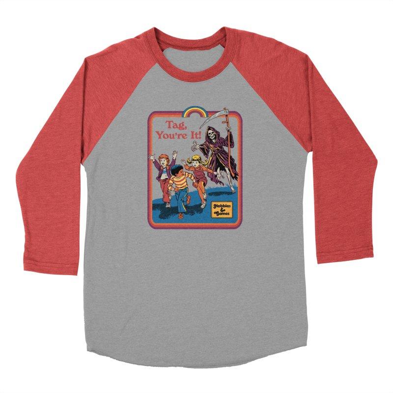 Tag, You're It! Men's Longsleeve T-Shirt by Steven Rhodes