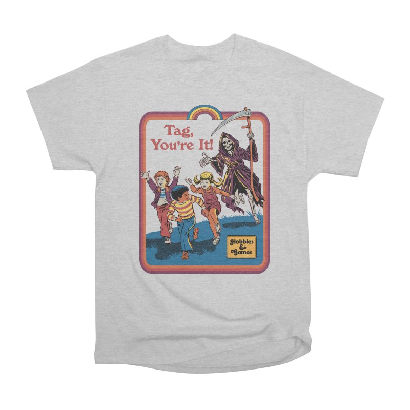 Tag, You're It! Men's T-Shirt by Steven Rhodes