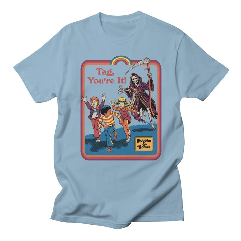Tag, You're It! Women's Regular Unisex T-Shirt by Steven Rhodes